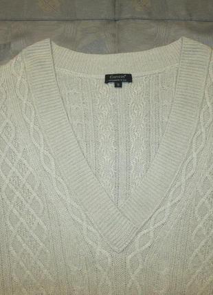 Essentiel  шелковая кашемировая кофта пуловер джемпер шелк + кашемир