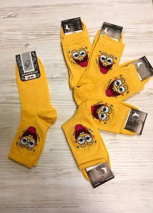Модні носки з високою резинкою