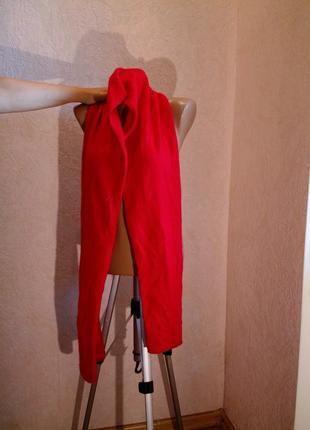 Красный шарф кашемир?