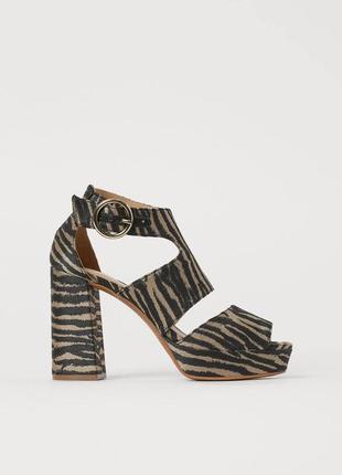 Босоножки, босоножки на удобном каблуке, туфли