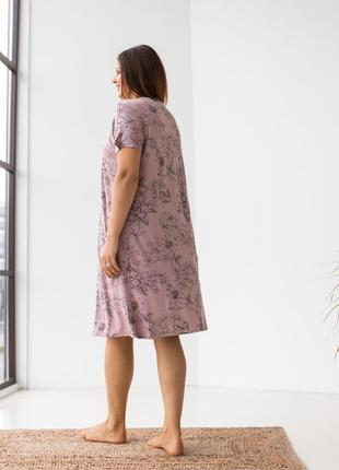 Женская ночная сорочка из вискозы2 фото