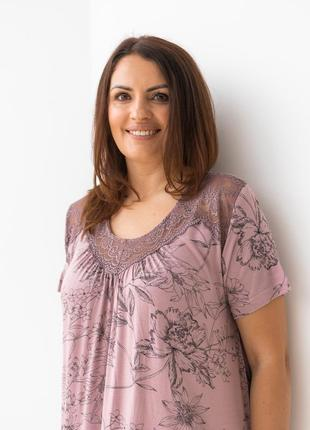 Женская ночная сорочка из вискозы3 фото