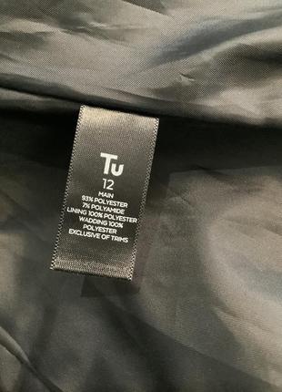 Женская демисезонная стёганная куртка с поясом размер м8 фото
