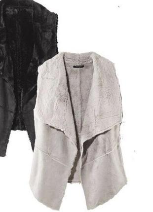 Женская жилетка на меху esmara