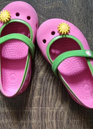 Крокси crocs оригінал, с5, 1-1,5 роки