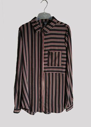 Блуза сорочка atmosphere primark в полоску