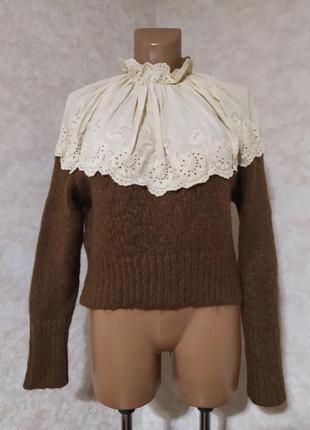 Необычный свитер с прошлой, zara, s-m