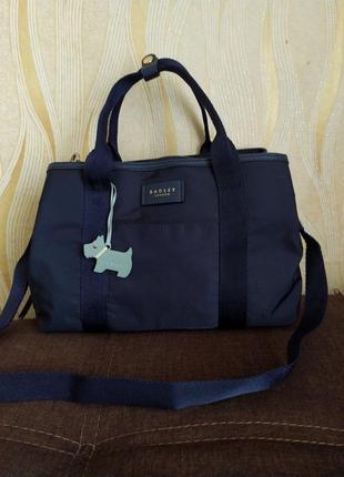 Синяя сумка radley