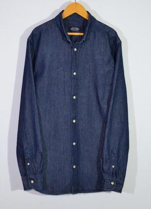 Рубашка джинсовая jack & jones shirt