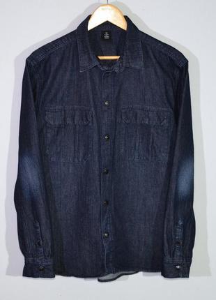 Рубашка джинсовая denim shirt