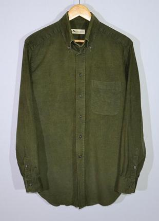 Вельветовая рубашка aquascutum shirt