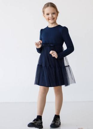 Сукня синього кольору для дівчинки suzie