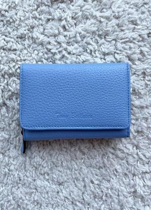 Кошелек женский кожаный tony belucci темно-голубой