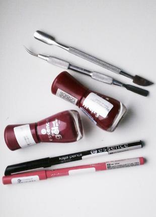 Набор косметики essence + инструменты для маникюра