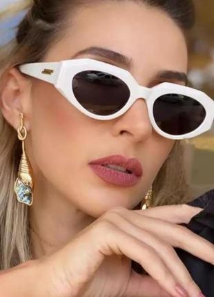 Эксклюзивные брендовые солнцезащитные женские очки+фирменная коробка 2021