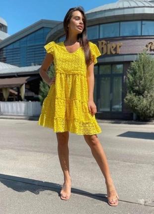 Акция распродажа платье прошва