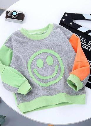 Яркие свитшоты свитерки для мальчика