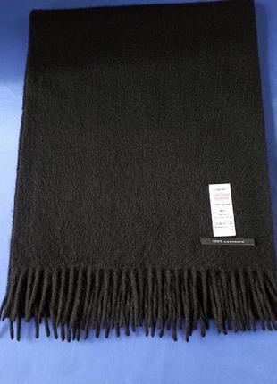 Отличный кашемировый шарф 100% кашемир