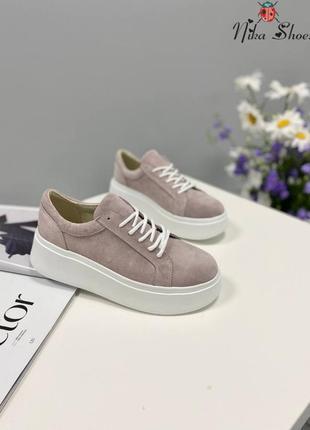 Женские классические замшевые кроссовки
