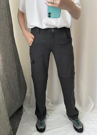 Трекинговые штаны шорты трансформер mammut