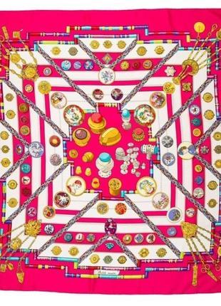Hermes petite main винтажный шарф платок в вашу коллекцию