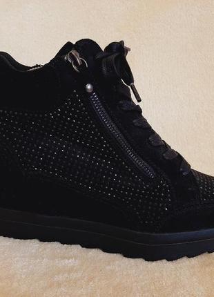 Стильные ботинки сникерсы фирмы catwalk p.40 стелька 26 см