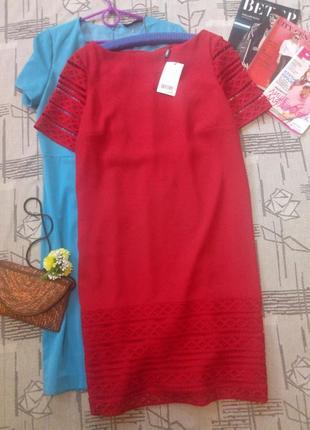 Яркое стильное платье, next, размер 14-16