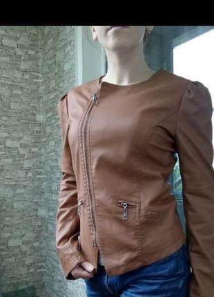 Куртка косуха рыжая