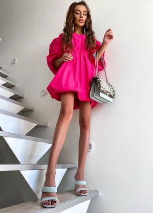 🍭 женское платье зефирка красивое розовое девочек лето хлопок вечернее красивое шикарное