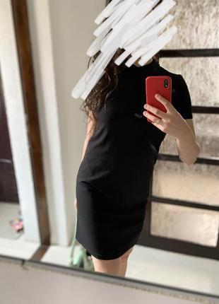 Плаття платье чорне черное коротке incity