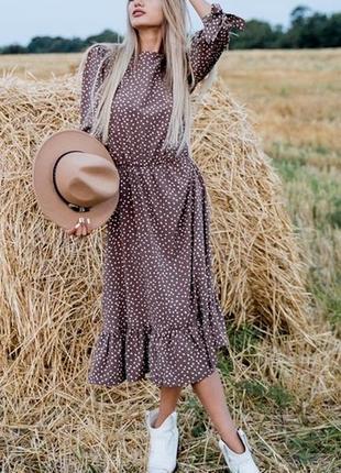 Платье в  горошек сукня в горох
