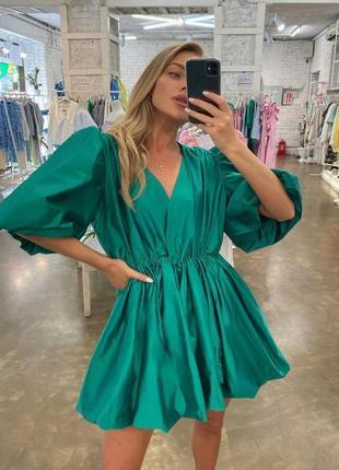 💚 платье зефирка широкое женское летнее красивое купить недорого