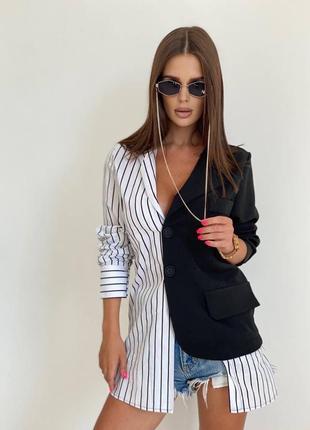 Невероятно стильное платье-пиджак