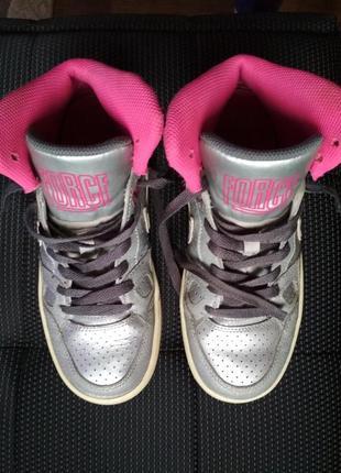 Nike кроссовки, ботинки, демисезон металлик
