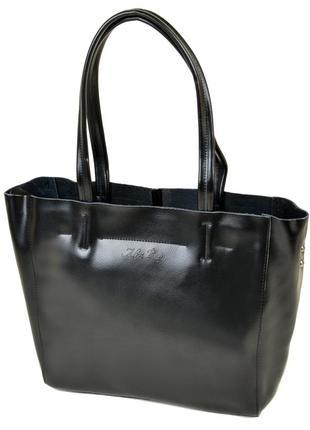 Женская кожаная сумка жіноча шкіряна шоппер шопер шкіряний