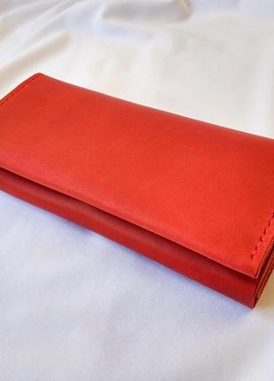 Женский кожаный кошелек stedley жасмин ручной работы