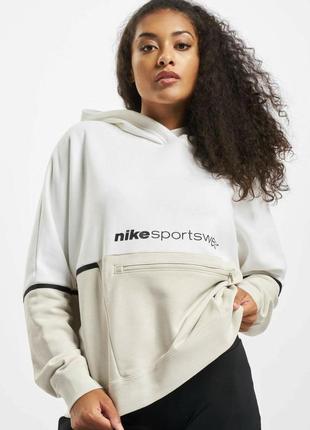 Новенькое худи от найк nike женское кофта с капюшоном sportswear из новых коллекций толстовка бобка свитшот