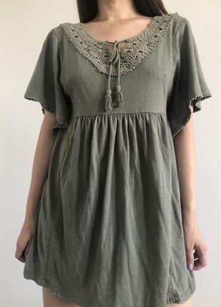 Платье в этническом стиле, вышиванка