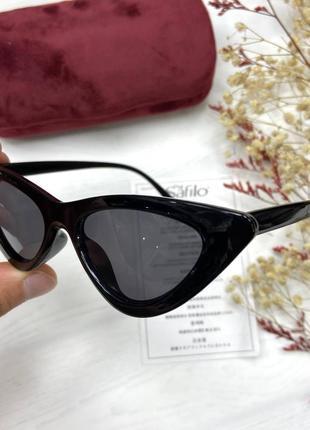 Качественные трендовые солнцезащитные очки 🖤