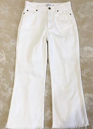 Белые широкие джинсы современного кроя & other stories paris atelier