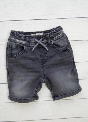 Джинсовые шорты от next, для мальчика 2-3 года.