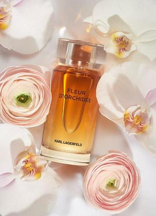 Оригинал! karl lagerfeld fleur d'orchidee, распив