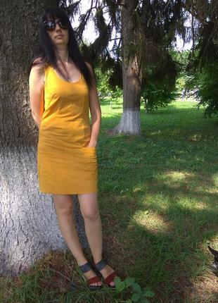 Стиллна сукня з карманами