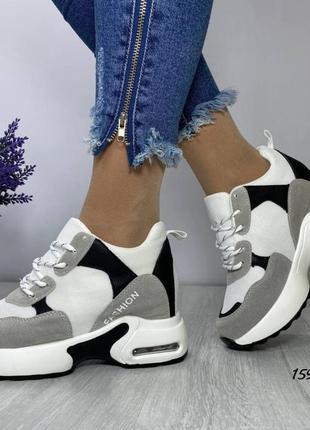 Женские сникеры , кроссовки на платформе , сникерсы