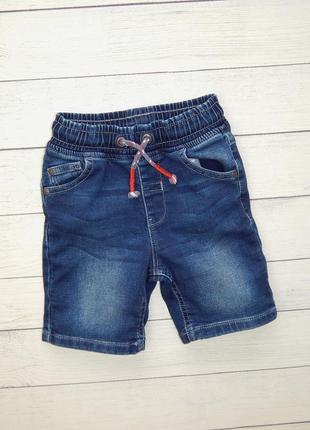 Джинсовый шорты от george, для мальчика 2-3 года. 92-98 рост.