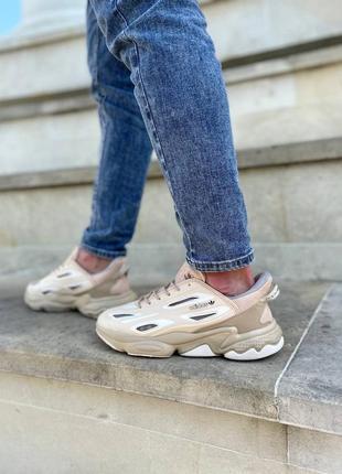Шикарные кроссовки унисекс adidas ozweego наложка