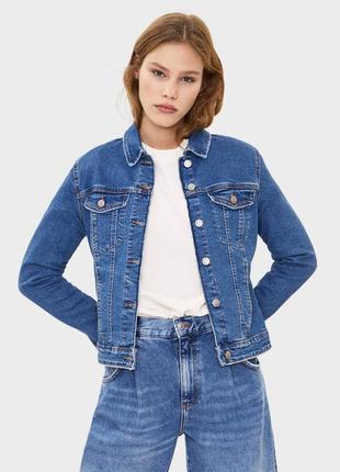 Джинсовая куртка курточка классическая