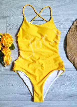 Жёлтый купальник , мега скидка♥️♥️