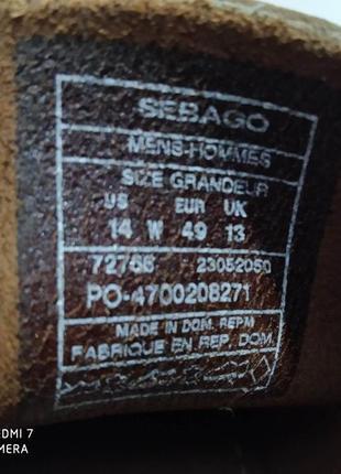 Кожаные туфли, мокасины, топсайдеры authentic sebago docksides8 фото