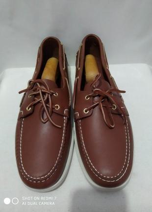 Кожаные туфли, мокасины, топсайдеры authentic sebago docksides2 фото